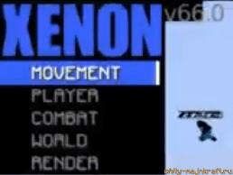 HUD меню чита Xenon
