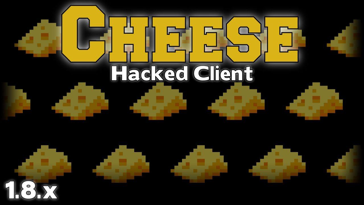 Чит клиент Cheese на Майнкрафт 1.8