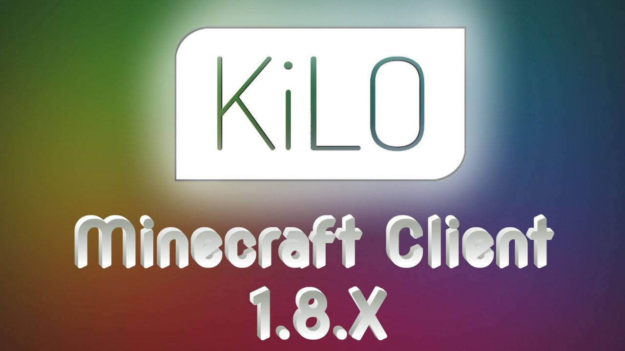 Чит Kilo для Майнкрафт 1.8